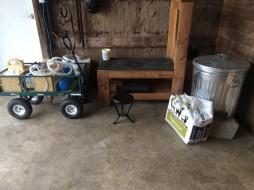 Goat Milking Setup